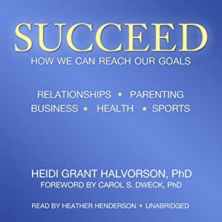 Succeed: How We Can Reach Our Goals audiobook cover art