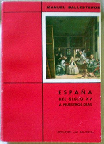 ESPAÑA. DEL SIGLO XV A NUESTROS DÍAS