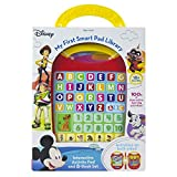 Disney - Mickey, Minnie, Toy Story and More! - My First Smart Pad Electronic Activity Pad and 8-Book Library - PI Kids