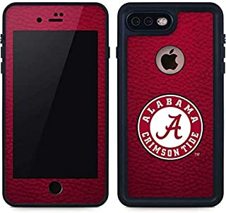Skinit Waterproof Phone Case for iPhone 8 Plus - Officially Licensed College University of Alabama Seal Design