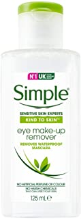 Simple Kind To Skin Eye Make-up Remover Conditioning, 125ml