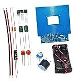 Acxico 1Set Metal Detector Module DIY Electronic Kit DC 3-5V Non-Contact Sensor Module Set Soldering Practice Kit