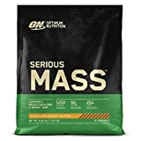 Optimum Nutrition ON Serious Mass Proteina en Polvo Mass Gainer Alto en Proteína, con Vitaminas,...