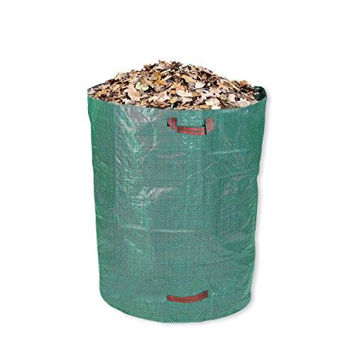 Schramm® Gartensack 120 Liter Grün Polypropylen Gewebe PP Gartensäcke Garten Sack Säcke Big Bag Laubabfall Gartenabfall