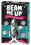 Beam me up! | Bring die Steine nach oben | Schwereloses Würfelglück | Ein Würfel- und Kartenspiel von Klaus-Jürgen Wrede