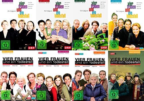 Vier Frauen und ein Todesfall - Die komplette 1. - 8. Staffel [16-DVD]