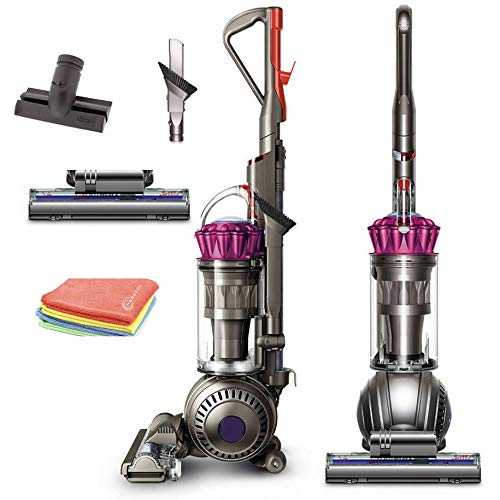 Flagship Dyson Ball MultiFloor Upright Vacuum:High Performance HEPA Filter, Bagless Height Adjustment,Strongest Suction,Telescopic Handle,Self Propelled Rotating Brushes+ Marxsol One Microfiber Cloth