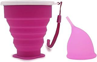 4167d371f0 Cup Menstruelle, Coupe Menstruelle Sans Tige Mooncup, Cup Coupe Menstruelle  Bio Intima Taille 1