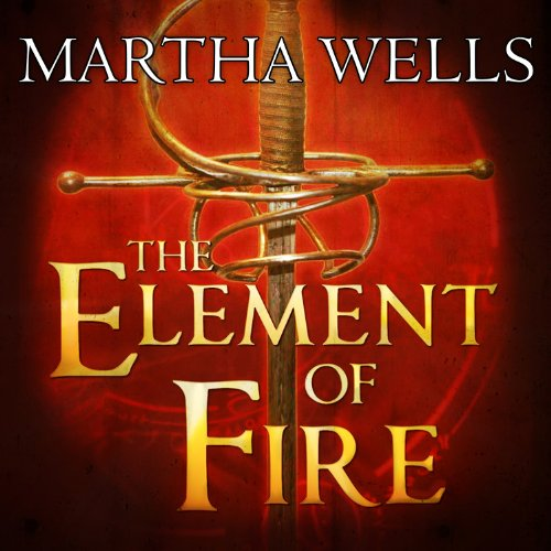 The Element of Fire audiobook cover art