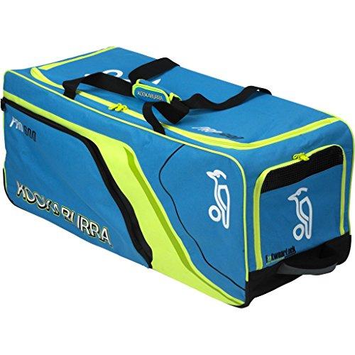 KOOKABURRA Pro 600Cricket Wheelie Tasche–Blau/Gelb