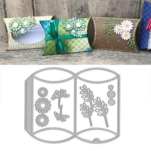Mothcattl Stanzschablonen, Geschenk-Box, Metall-Stanzschablone zum Basteln, Scrapbooking, für Album, Papierkarten, Basteldekoration