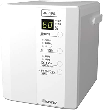三菱重工 roomist スチームファン蒸発式加湿器(木造和室6畳まで/プレハブ洋室10畳まで) 純白 SHE35RDA-W SHE35RDA-W