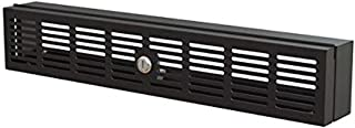 StarTech.com 2U Rack-Mount Security Cover - Hinged - Locking with Key - Compatible with 19 inch Racks (RKSECLK2U)