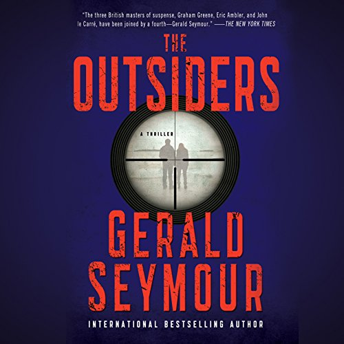 The Outsiders audiobook cover art