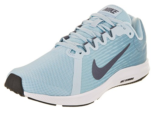 Nike Damen Downshifter 8 Laufschuhe, Blau (Cobalt Tint/Light Carbon-Leche Blue 400), 36.5 EU