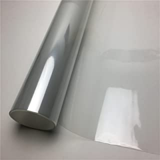 new 3 Layers Glossy Transparent Vinyl Film Motorcycle Bike Scooter Skin Protective Film For Car Paint Protection Film (Col...
