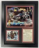 Legends Never Die Dale Earnhardt Sr NASCAR Collectible | Framed Photo Collage Wall Art Decor - 12'x15' | (12904U)