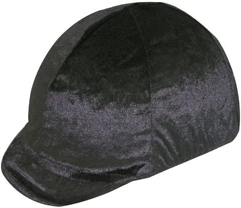Velvet Stretch Helmet Cash special Many popular brands price Cover Soft Large Peak