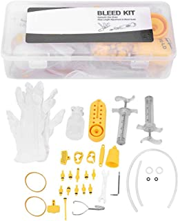 Kit de Reparación de Freno de Disco Hidráulico, Kit de Purga de Freno Hidráulico de Bicicleta para la Herramienta de Purga de Fluido de Freno de Disco Shimano Estándar