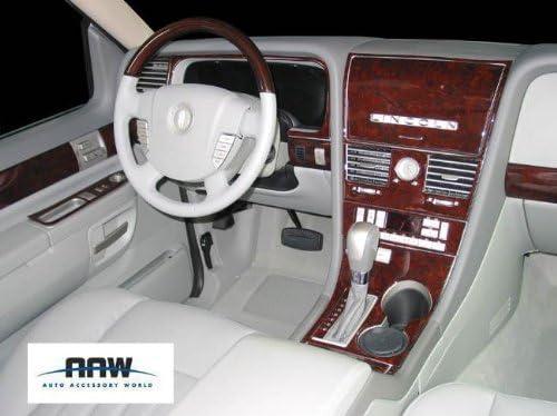 NAVIGATOR Lincoln Interior BURL Wood Dash Trim KIT Set 2005 2006