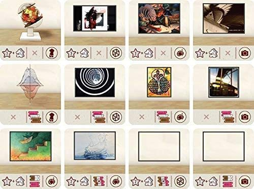 Eagle-Gryphon Games The Gallerist Expansion Pack 2 Tiles