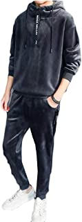 Maweisong Men's Sport Athletic Tracksuit Casual Jogging Gym Sweat Suit