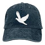 N \ A Casqueta de pájaro volador al aire libre gorra de béisbol clásica algodón ajustable sombrero unisex cubo accesorios de béisbol azul marino