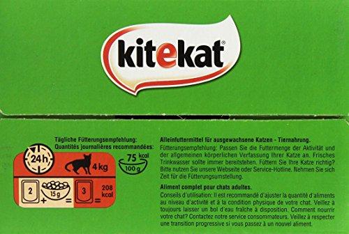 Kitekat Katzenfutter Bunte Vierfalt in Soße, 48 Beutel (1 x 48 x 100 g) - 3