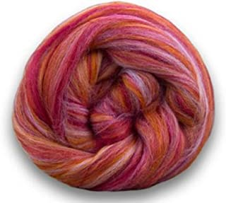 4 oz Paradise Fibers Soft & Silky Bambino Bonnie Bee - 85% 23 Micron Solid Color Merino Wool and 15% Dyed Bamboo Blend