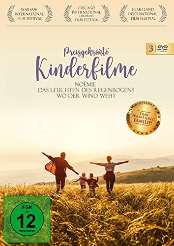 Preisgekrönte Kinderfilme - Noémi, Das Leuchten des Regenbogens, Wo der Wind weht [3 DVDs]
