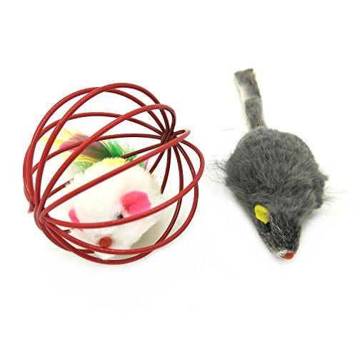Katzenspielzeug, PietyPet Katze Toys Variety Pack, Spielzeug für Katzen Kitty, 13 Stück - 3