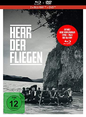 Herr der Fliegen (1990 + 1963) - 3-Disc Limited Collector\'s Edition im Mediabook (Blu-ray + DVD + Bonus-Blu-ray)