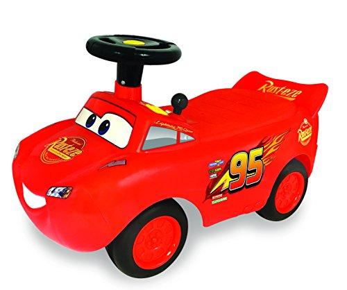 Kiddieland Toys Limited My Lightning McQueen Racer Ride On,Multi