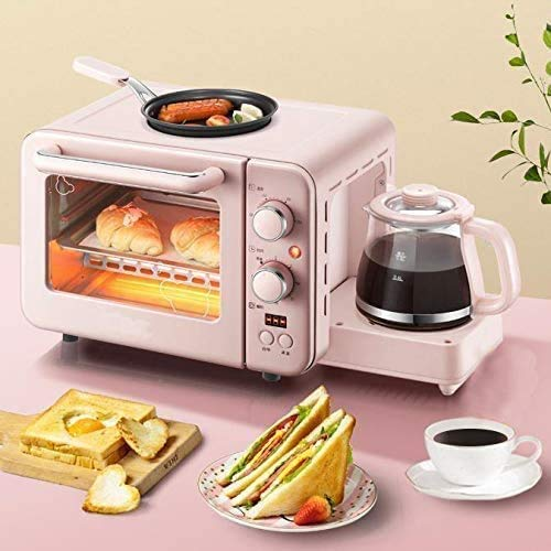 Check Out This CattleBie Breadmakers, Multifunction Breakfast Machine Toaster Small Electric Oven El...