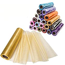 Organza Roll for Aladdin Party Decorations DIY