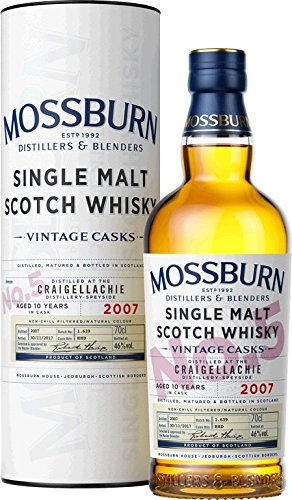 Mossburn Distillers Vintage Cask No. 5 - Speyside Craigellachie Distillery Single Malt Whisky (1 x 0.7 l)