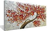 Pittura Ad Olio Dipinto A Mano su Tela Quadro Dipinto A Mano Pittura A Olio Soggiorno Parete Foto Tela Moderna Pittura Estratto Tela di Canapa di Art del Salone Dell'Estratto -50X100Cm