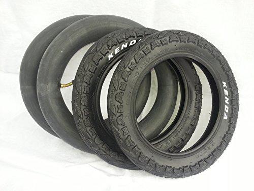 Kenda 2x Reifen + Schlauch Set 12 Zoll Kinderwagen 12 1/12 x 2 1/4 62-203, 30000262