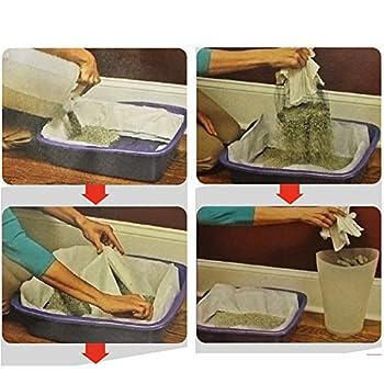 Reefa Filtre Anti-odeurs et Anti-taches pour Bac à litière Chats