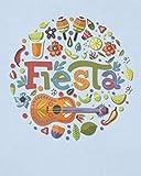 Fiesta: Mexico Cinco de Mayo Gifts - Mexican Celebration - Fun Folk Art Notebook for Women Men - Blank Wide Ruled Journal with Bonus Password Tracker - 8'x10'