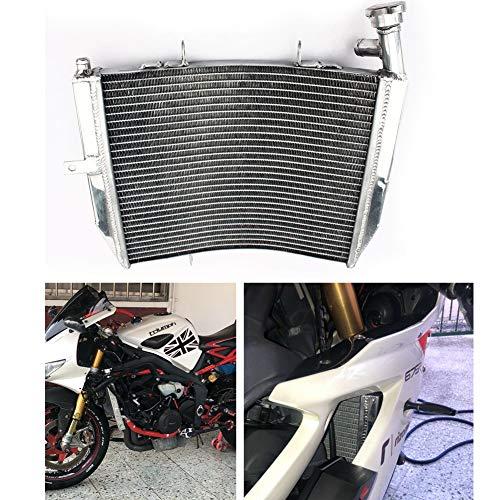 TARAZON Moto Radiador Enfriamiento de Aluminio para T.R.I.U.M.P.H Daytona 675 2006 2007 2008 2009 2010 2011 2012, refrigeración del motor