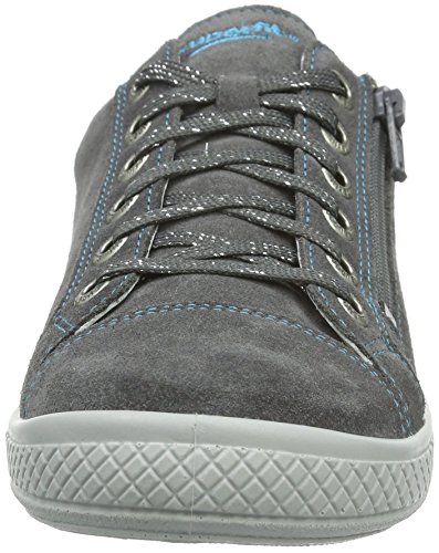 Superfit TENSY 708107, Mädchen Sneakers, Grau (STONE KOMBI 06), 30 EU - 2