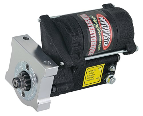 Powermaster 9609 Master Infi-Clock Starter Motor (Chevy, Pont LS, LSX Eng GMC LS Truck 4.8L,5.3L,6.0L,6.2L 168T Flyw Black Wrinkle), 1 Pack