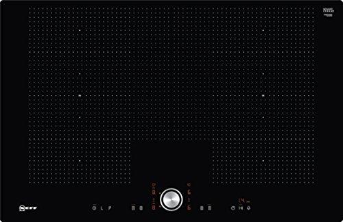 Neff TPT6860X Integrado Inducción Negro, Acero inoxidable - Placa (Integrado, Inducción, Vidrio y cerámica, Negro, Acero inoxidable, Rectangular, 230 x 200 mm)