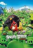 Slbtr - 1000 Piezas Puzzle - Los Carteles De Cine De La Película Angry Birds - Rompecabezas para Niños Adultos Juego Creativo Rompecabezas Navidad Decoración del Hogar Regalo