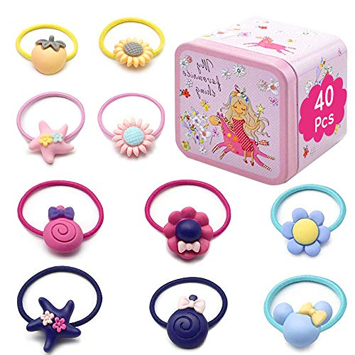 40 Pcs Toddler Girls Hair Access...