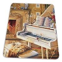 マウスパッド ピアノ ゲーミングマウスパット デスクマット 最適 高級感 おしゃれ 滑り止めゴム底 防水設計 複数サイズ