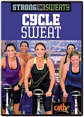 Cathe Friedrich Strong and Sweaty Cycle Sweat Indoor Cycling DVD product image
