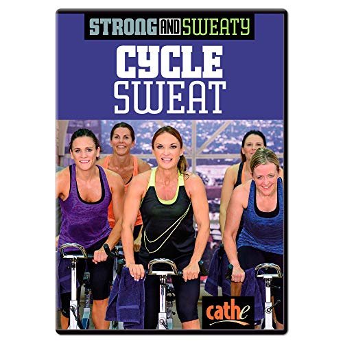 Cathe Friedrich Strong and Sweaty Cycle Sweat Indoor Cycling DVD