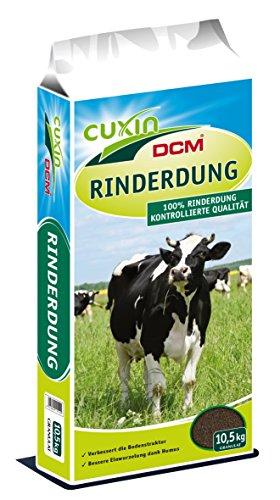 Cuxin Bio Rinderdung granuliert⎜Naturdünger für Obst, Gemüse und alle Gartenpflanzen (10,5 Kg)